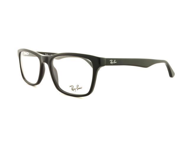 326ad32122 RAY BAN Eyeglasses RB 5279 2000 Shiny Black 53MM - Newegg.com