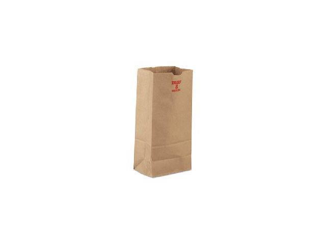 a6a7d3762 Bolsas de papel, Kraft marrón, 60-lb - Newegg.com