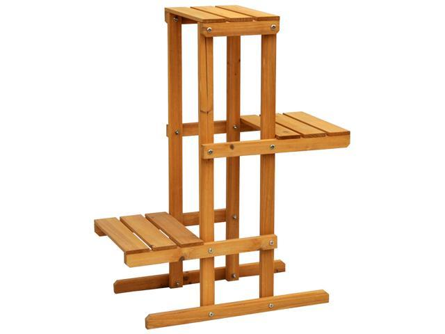 Cyress Wood 3 Tier Plant Stand