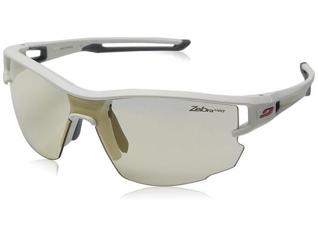 d1037b04c4e178 Julbo J4833111 AERO White Gray Zebra Light Sunglasses - Newegg ...