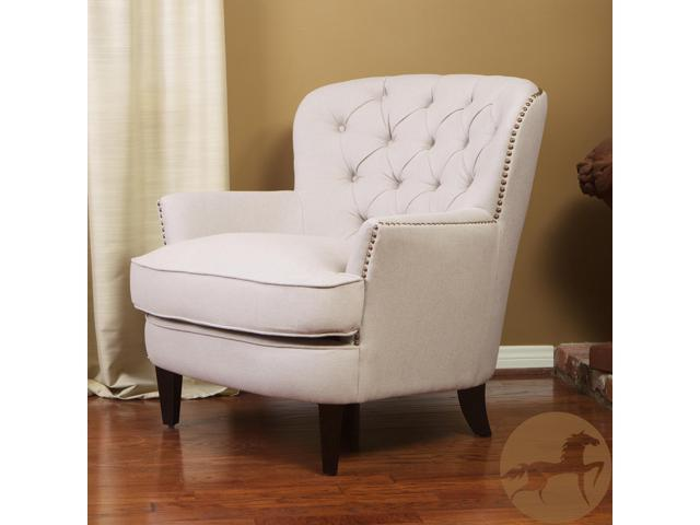 Bon Christopher Knight Home Tafton Tufted Fabric Club Chair