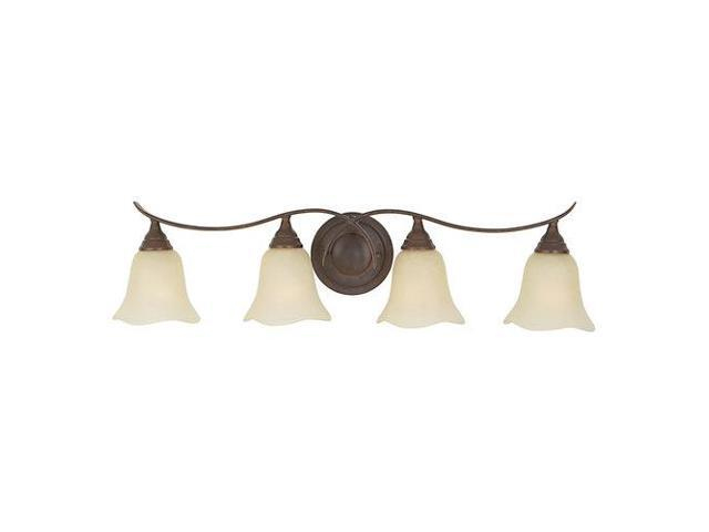 Talista 4 Light Antique Bronze Bath Vanity Light With: Feiss Morningside 4-Light Vanity Fixture In Grecian Bronze