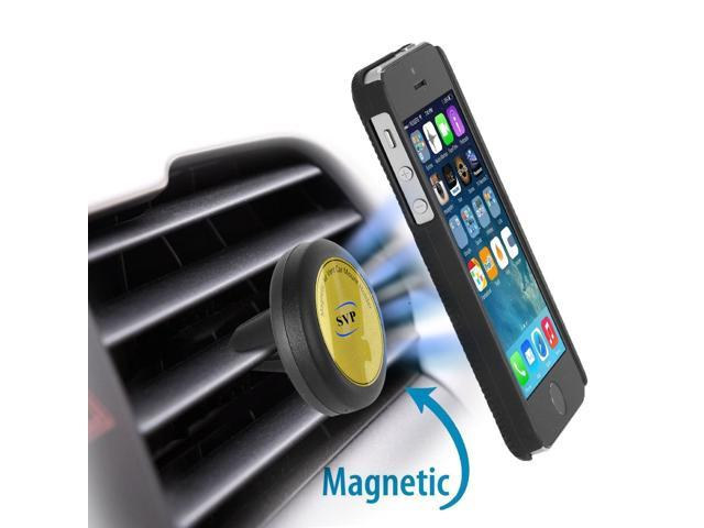 2a4097c0589fe7 SVP Magnetic Car Mount , Universal Air Vent Cell Phone Holder for  Smartphone, Truck -