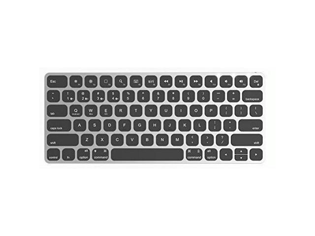 868bee9efd3 MultiSync Premium Slim Wireless Bluetooth Keyboard for Mac and iOS