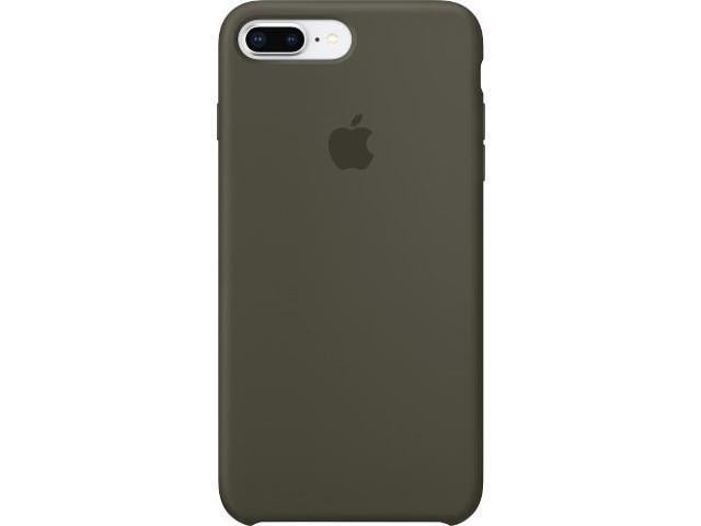 wholesale dealer d326b c6504 Apple iPhone 8 Plus / 7 Plus Silicone Case - Dark Olive - iPhone 7 Plus,  iPhone 8 Plus - Dark Olive - Silky - Silicone, MicroFiber - Newegg.com