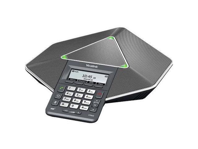 Yealink CP860 IP Conference Station - Cable - Desktop - 1 x Total Line -  VoIP - Caller ID - Speakerphone - 1 x Network (RJ-45) - USB - PoE Ports -