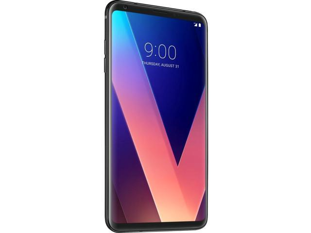 LG V30+ LS998 128GB Unlocked GSM 4G LTE Android Phone w/ Dual 16MP|13MP  Rear Camera - Aurora Black - Newegg com