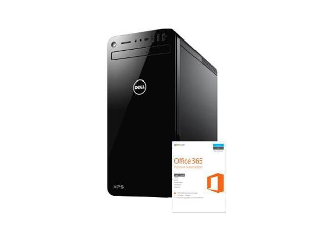 Dell XPS 8930 VR Ready Gaming Desktop + Microsoft Office 365 Personal  Subscription - Newegg com