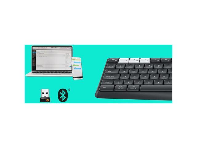 Logitech K375s Multi Device Wireless Keyboard And Stand Combo 920 008165 Black Bluetooth Wireless K375s Multi Device Wireless Keyboard And Stand Combo Newegg Com