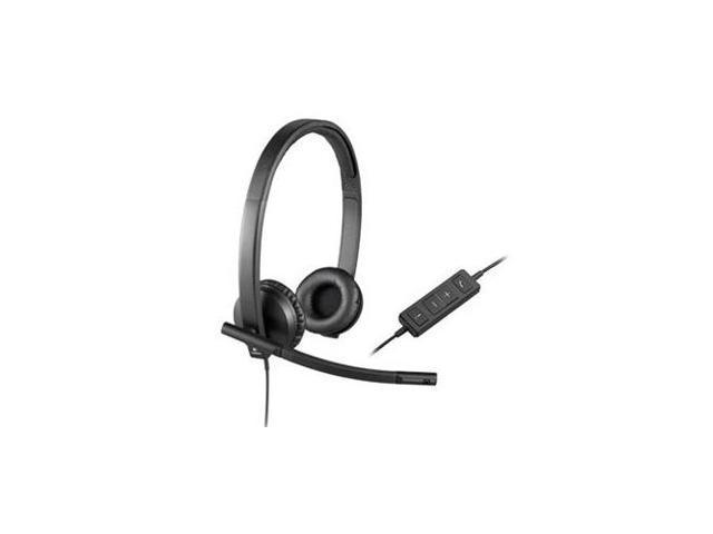 6ab6497deea LOGITECH LOG#981000574 USB Headset Stereo H570e Stereo - USB - Wired -  31.50 Hz