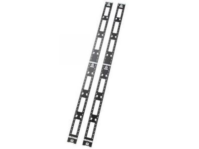 schneider electric sch ar7502 netshelter sx 42u vertical pdu mount and cable organizer