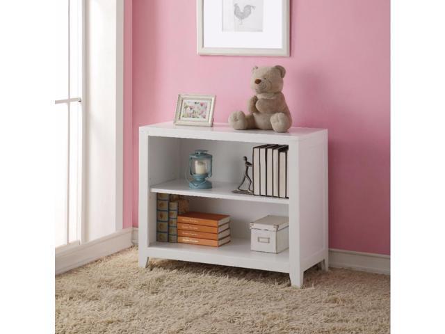 BENZARA BEN#BM160029 Simple Looking Wooden Bookcase, White