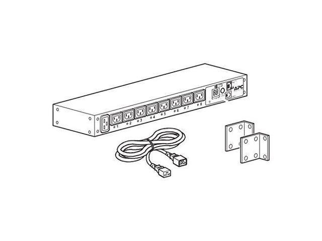 schneider electric ap7921b rack pdu  switched  1u  16a  208  230v