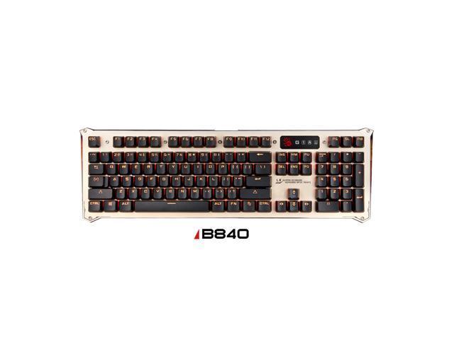 ccb11240c0b BLOODY B840 Light Strike LK Optical Gaming Keyboard – Orange LED Backlit –  LK Blue Tactile