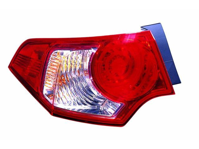 Replacement Depo Driver Side Tail Light For 09 10 Acura Tsx 33550tl0a01