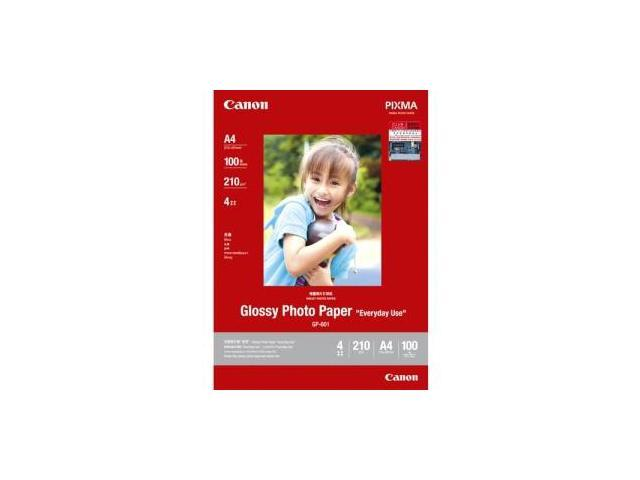 Canon Gp 601 Glossy Photo Paper 8649b003 85x11 50 Sheetpack
