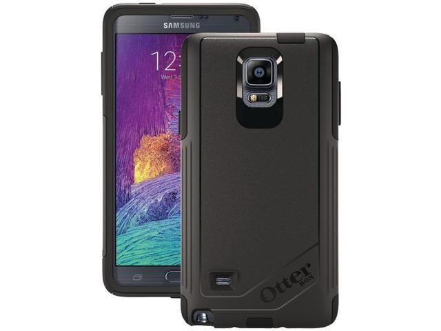 reputable site 97840 affb2 Samsung Galaxy Note 4 BLACK Otterbox Commuter Case + Screen Protector  77-50469 - Newegg.com