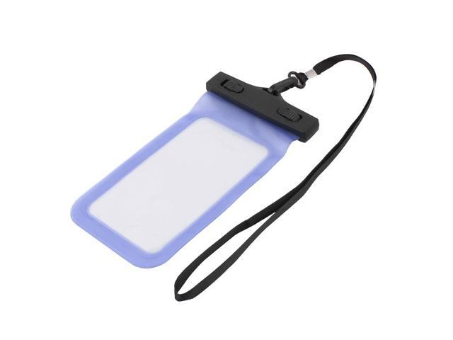 detailing d1775 e55c5 Underwater Cell Phone Water Resistance Case Bag Pouch Protective Holder  Blue - Newegg.com