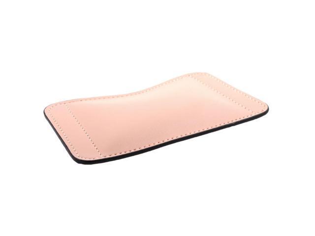 Unique Bargains Laptop Computer Pu Leather Mice Pad Support Cushion Mouse Wrist Rest Tan Newegg Com