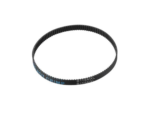 unique bargains 92mxl rubber timing belt synchronous closed loop timing belt pulleys 6mm width