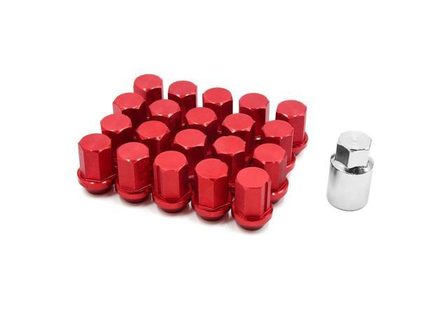 ENET 4pcs Alloy Wheel Nuts for Car X Type and S-Type Locking Wheel Nuts