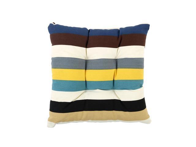 Home Garden Outdoor Patio Dining Stripe Seat Pads Chair Cushions 15 X15 Newegg Com