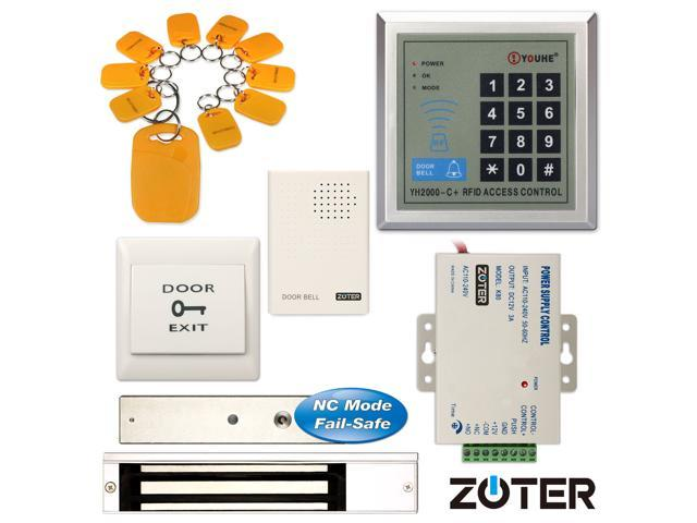 zoter 280kg 600lbs magnetic electric door lock id rfid cardzoter 280kg 600lbs magnetic electric door lock id rfid card access control entry password keypad security