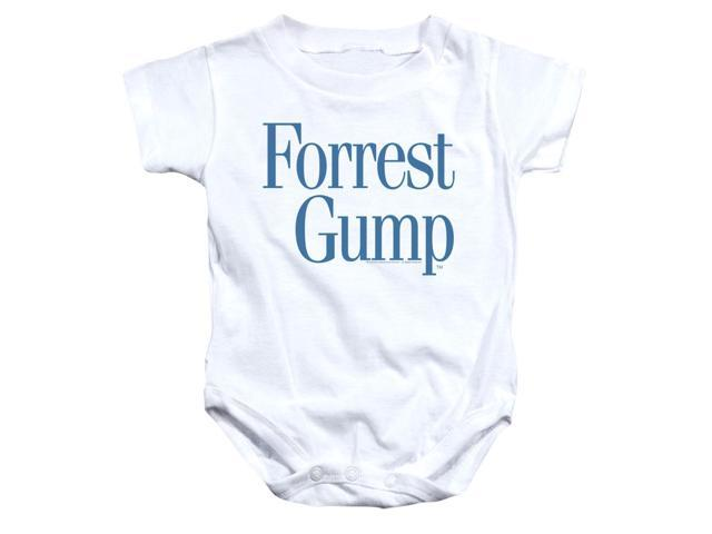 Forrest Gump Logo Unisex Baby Snapsuit Newegg Com