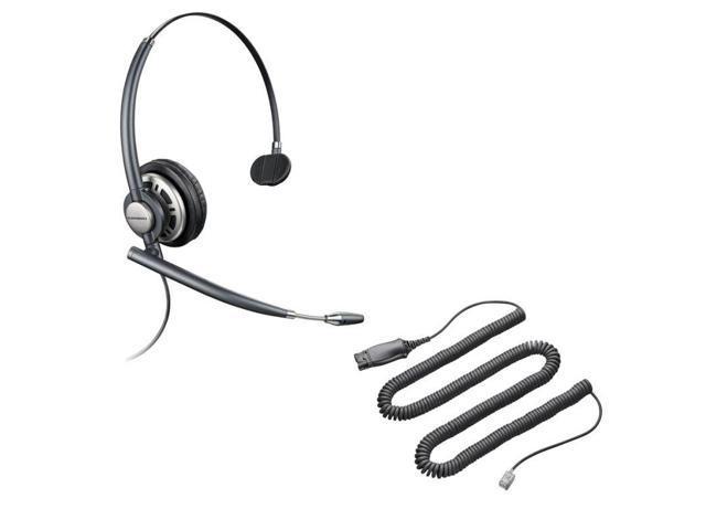 1d893cb6278 PLANTRONICS EncorePro Quick Disconnect Connector Supra-aural KIT HW710  encorepro monaural ACCS corded headset