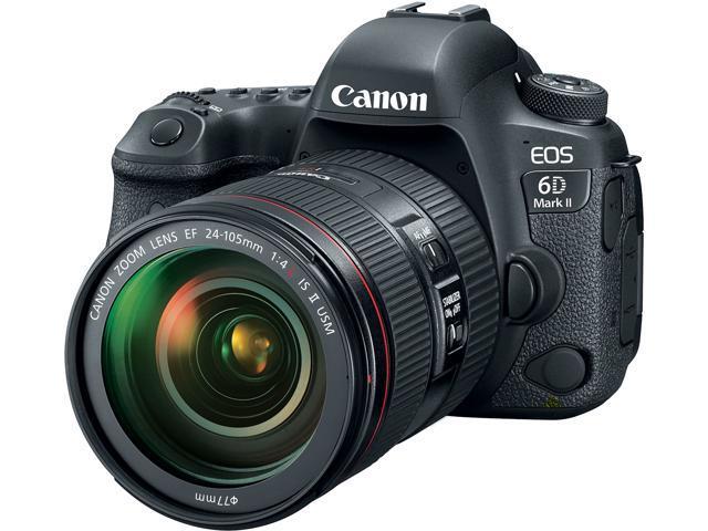 Canon EOS 6D 26.2MP FHD DSLR Camera w/24-105mm Lens