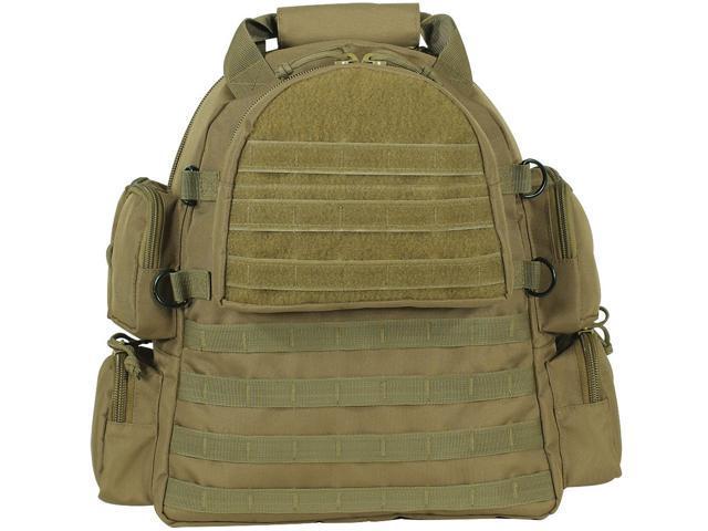 Voodoo Tactical 15 9961 Sling Bag W Molle Webbing Coyote Tan