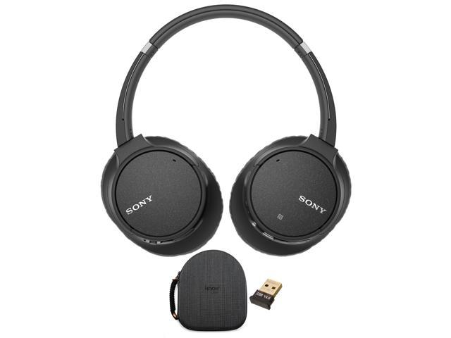 9226fe2865e Sony WH-CH700N Wireless Noise Canceling Headphones (Black) with Case Bundle