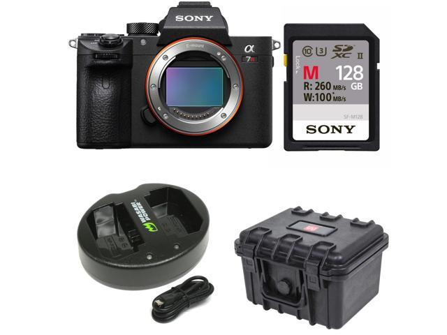 Sony a7R III 42.4MP Fullframe Mirrorless ILCE Camera 128GB Bundle ...
