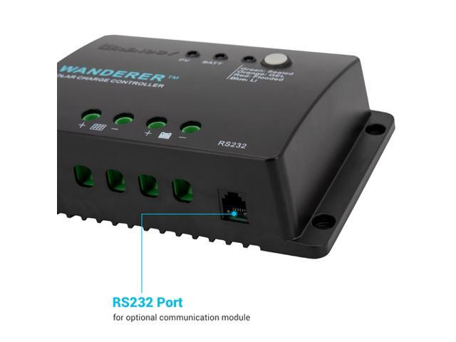 Renogy Wanderer Li 30A PWM Charge Controller - Sale: $35.99 USD