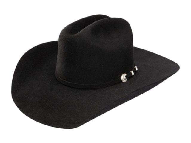 7986d18a720 Stetson Cowboy Hat Mens 4X Felt Corral 7 Black SBCRAL-754007 ...