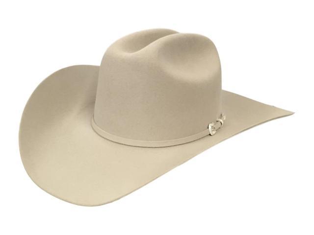 Stetson Cowboy Hat Mens 5X Lariat 6 7 8 Silverbelly SFLRAT-724261 ... be09dd85b40