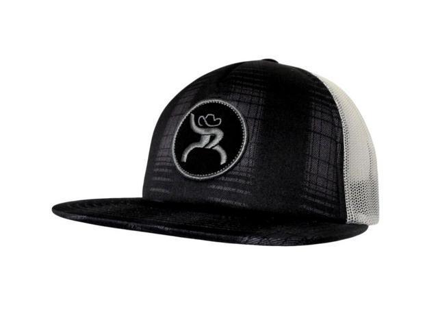 b39aa54952d281 HOOey Hat Mens Truck Cap Roughy Mesh Back One Size Black 4321T