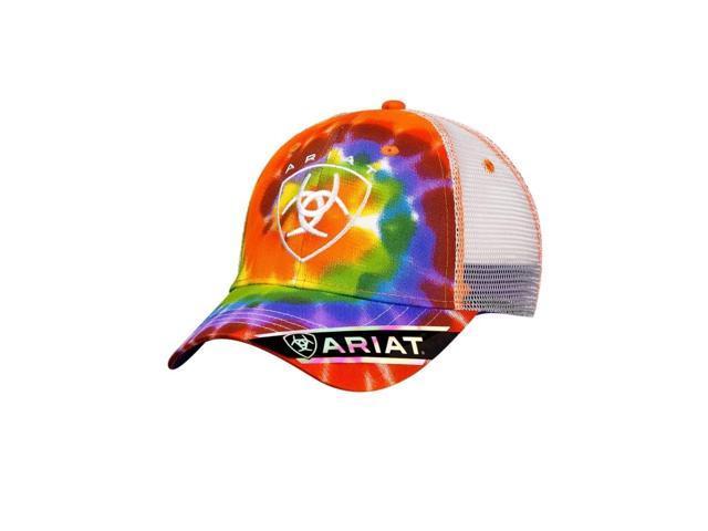 detailed look b5d8f c6fd8 ... closeout ariat hat womens baseball cap tye dye one size multi color  1544497 02f81 d9208 ...