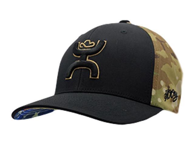 new product d5dc8 f888b ... top quality hooey hat mens baseball chris kyle flex fit mid s m black  camo ck015 2e27d