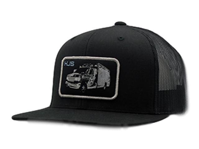 040c4c634be982 HOOey Hat Mens Trucker Jambo Snapback Mesh One Size Black 1820T