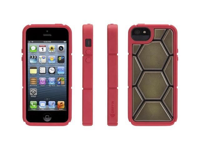 finest selection 9a66e 3d061 Griffin Teenage Mutant Ninja Turtles Skins for iPhone 5, Raphael The TMNT  protective skin that looks like a shell - Newegg.com