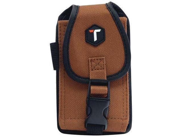 buy online 10ec9 ed03d Tough Tested Rugged Phone Case / Pouch with Belt Clip, 6 Point Security,  Tan, TT-RUGGED-LT - Newegg.com