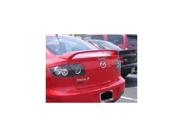 2004 mazda 3 hatchback spoiler