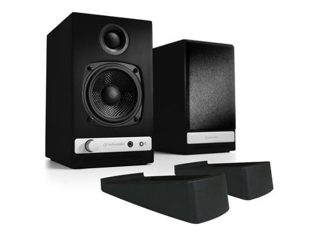 Audioengine HD3 Black (Pr) Powered Speakers & DS1 (Pr) Desktop Speaker  Stands - Newegg com