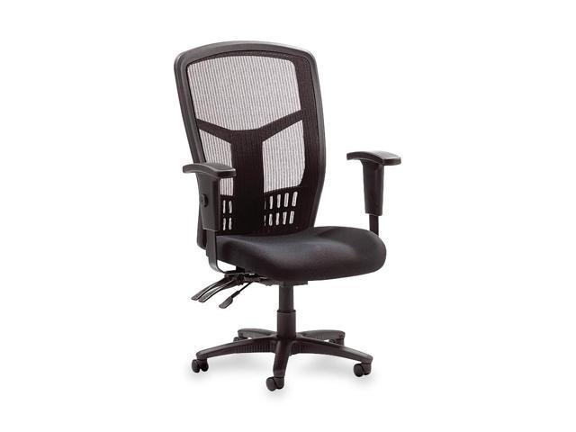 Lorell 86200 Executive High Back Chair, Mesh Fabric, 28 1/2