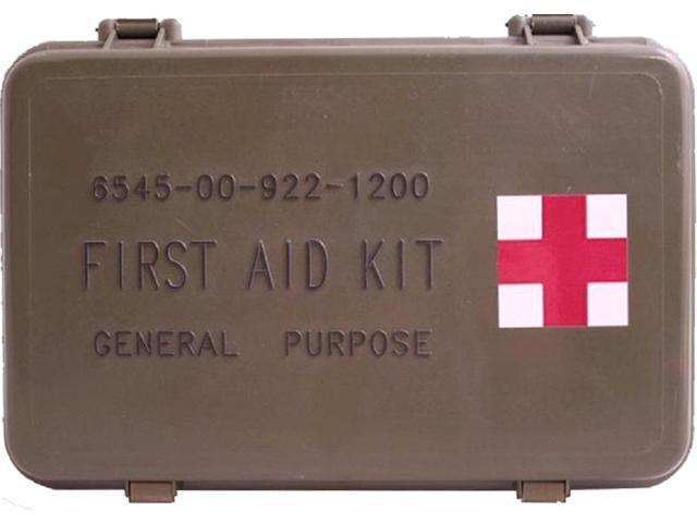 Elite First Aid FA101 General Purpose Military Issue Case Aid Kit -  Newegg com