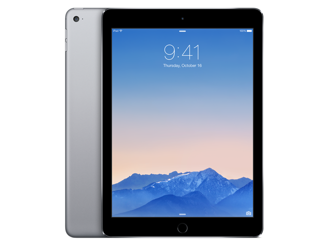 2f681e6ec2 Apple iPad Air 2 MGTX2LL A A8X chip with 64-bit architecture and M8 motion  coprocessor 1.50 GHz 1 GB Memory 128 GB Flash Storage 9.7