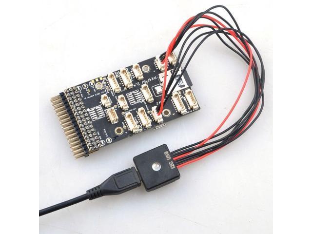 Pixhawk PX4 RGB External LED & USB Extension Module with Protective Case  Full Color I2C LED Module - Newegg com