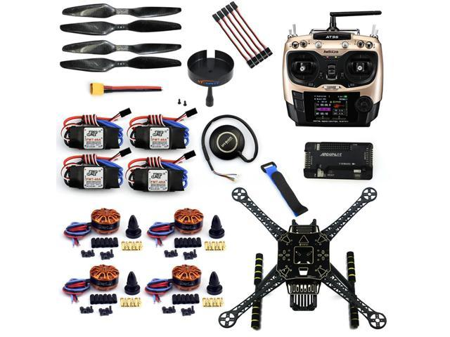 DIY 4 Axle RC FPV Drone S600 Frame Kit with APM 2 8 Flight Control No  Comapss AT9S Transmitter 700KV Motor 40A ESC GPS - Newegg com