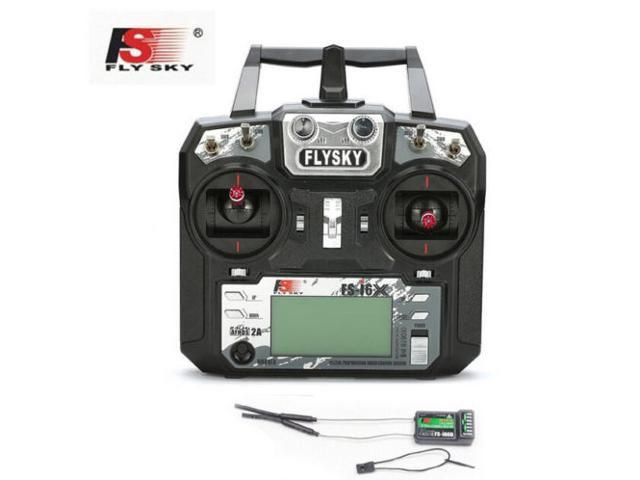 Flysky FS-i6X 10CH 2 4GHz AFHDS 2A RC Transmitter With FS-iA10B Receiver  For Rc Airplane Mode 2 - Newegg com
